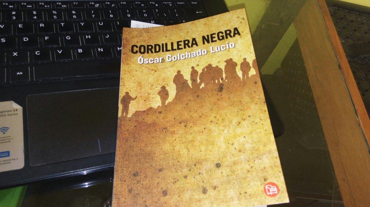 """#Reseña: """"Cordillera negra"""" de Óscar Colchado Lucio"""